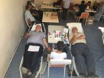 KAN BAĞıŞı - Altıntaş'ta 15 Temmuz Etkinlikleri Kapsamında Kan Bağışı