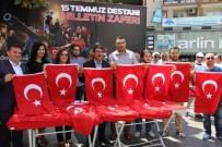 FARUK ÇELİK - Başkan Çelik Vatandaşlara Bayrak Dağıttı