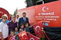 TEMEL ATMA TÖRENİ - Beşiktaş'a Dikilecek '15 Temmuz Anıtı'nın Maketi Sergilendi