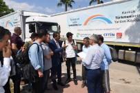 KUZEY IRAK - Çukurova Belediyesi'nden Türkmenlere Yardım Tırı
