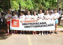 MEHMET ÖZEL - Diyarbakır'da 15 Temmuz Demokrasi Zaferi Ve Şehitleri Anma Halk Koşusu Yapıldı