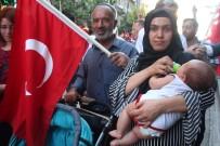 MEHTERAN TAKıMı - Elazığ'da 'Demokrasi Ve Milli Birlik Yürüyüşü'