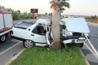 AŞIRI HIZ - Emanet Araçla Refüje Girdi Açıklaması 1 Ölü