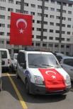 BOMBALI SALDIRI - Emniyet Binalarına Ve Araçlara Türk Bayrakları Asıldı