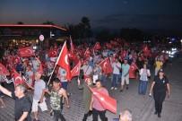 FETHIYE BELEDIYESI - Fethiye'de 15 Temmuz Milli Birlik Yürüyüşü