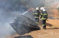 ALI ÖZTÜRK - Gaziantep'te Son Bir Ayda 3 Kez Pazar Yerindeki Tezgahlar Yandı