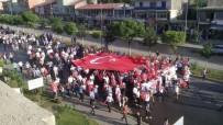 EMNİYET AMİRLİĞİ - Güroymak'ta '15 Temmuz Milli Birlik Yürüyüşü Yapıldı'
