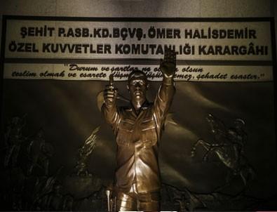 Kırıkhan'da 15 Temmuz Şehitler anıtı açıldı
