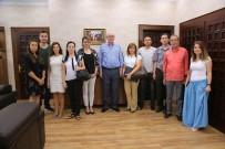 KÜLTÜR BAKANLıĞı - Kültür Ve Turizm Bakanlığı Araştırma Heyeti Başkan Kurt'u Ziyaret Etti