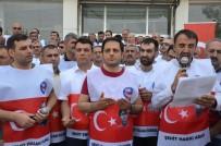 ZIRHLI ARAÇ - Memur-Sen'den Duygulandıran '15 Temmuz' Programı