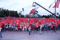 BURHANETTIN KOCAMAZ - Mersinliler, 15 Temmuz'un Yıl Dönümünde Meydanlara Aktı