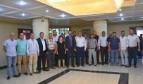 ÜLKÜ OCAKLARı - Nazilli MHP'nin Yeni Yönetimi Başkan Alıcık'ı Ziyaret Etti