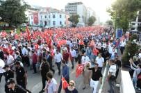 BURSA VALISI - On Binler Bayrak Yürüyüşünde Buluştu