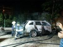 DERECIK - Otomobille Birlikte 60 Bin TL'de Yandı
