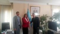 ÖZBEKISTAN - Patronlar Dünyasının Başkanından Özbekistan Büyükelçiliği'ne Ziyaret