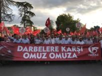 İRFAN BALKANLıOĞLU - Sakarya'da Büyük Milli İrade Yürüyüşü Binlerce Kişinin Katılımıyla Gerçekleşti