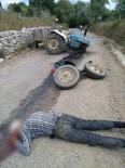 Sinop'ta Traktör Kazası Açıklaması 1 Yaralı