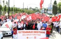 TUZLA PİYADE OKULU - Tuzla Halkı, Milli Birlik Yürüyüşünde Bir Kez Daha Kenetlendi