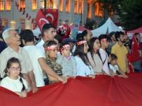 15 Temmuz Demokrasi Ve Milli Birlik Günü Programına Çocuklardan Yoğun İlgi