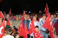 AKŞEHİR BELEDİYESİ - 15 Temmuz'un Yıldönümünde Akşehirliler Demokrasi Nöbeti Tuttu