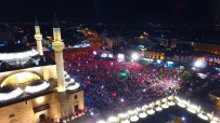 AHMET DAVUTOĞLU - 15 Temmuz'un Yıldönümünde Binlerce Kişi Mevlana Meydanı'na Akın Etti