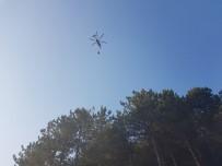 MADEN OCAKLARI - Bursa'da 4 Helikopterle Müdahale Edilen Orman Yangını Kontrol Altına Alındı