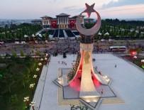 ŞEHİTLER ABİDESİ - 15 Temmuz Şehitler Anıtı'nın açılışı yapıldı