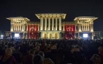 ŞEHİTLER ABİDESİ - Cumhurbaşkanlığı Külliyesi Önünde Heyecanlı Bekleyiş