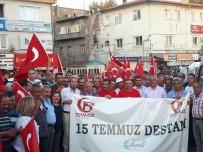 ALPARSLAN TÜRKEŞ - Develi'de 15 Temmuz İçin Anma Yürüyüşü Yapıldı
