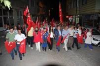 KEFEN - Domaniç, 15 Temmuz Demokrasi Zaferi Ve Şehitleri Anma Günü'nde Tek Yürek