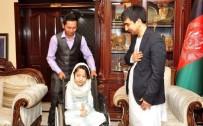 ENGELLİ KIZ - Engelli Afgan Kızdan 15 Temmuz Tablosu