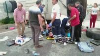 Festival Yolunda Kaza Açıklaması 38 Yaralı