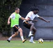 FLORYA - Galatasaray Östersunds FK Hazırlıklarını Sürdürdü