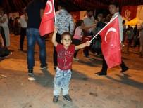 GAZIANTEP TICARET ODASı - Gaziantep'te Demokrasi Nöbeti