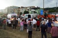 Festival yolunda korkunç kaza: 38 yaralı