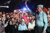 YıLMAZ ŞIMŞEK - Kahraman Şehidin Babası Hasan Hüseyin Halisdemir 'Milli Birlik Ve Demokrasi' Nöbetine Katıldı