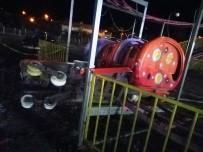 EĞLENCE MEKANI - Lunapark'da Feci Kaza Açıklaması 1 Ölü, 1'İ Ağır 4 Yaralı