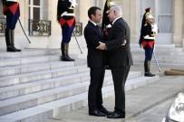 FRANSA CUMHURBAŞKANI - Macron, Netanyahu'yu Kabul Etti