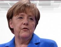 ANGELA MERKEL - Merkel'den 'Konya' açıklaması