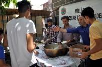NOHUTLU - Milli Birlik Ve Kardeşliğe Çağrı Konfederasyonundan Bin Kişilik Yemek