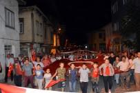 EMİR OSMAN BULGURLU - Orhaneli 15 Temmuz Gecesi Binlerce Kişiyle Yine Meydandaydı