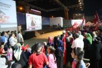 BAĞCıLAR BELEDIYESI - Şehitler Anıtı'nın Açılışı Bağcılar'da Canlı İzletildi