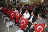 SAYGI DURUŞU - Şemdinli'de 15 Temmuz Demokrasi Ve Milli Birlik Günü Kutlandı