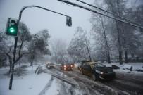 SPOR MÜSABAKASI - Şili'de Kar Yağdı, 1 Kişi Hayatını Kaybetti