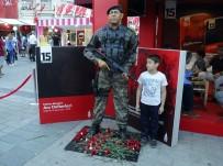 AHMET MISBAH DEMIRCAN - Taksim'de 15 Temmuz Demokrasi Nöbeti