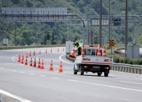 TRAFİK YOĞUNLUĞU - TEM Otoyolu Trafiğe Açıldı, Bolu Dağı'nda Trafik Rahatladı