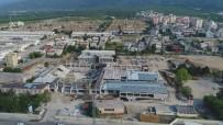 İNŞAAT ALANI - Türkiye'nin En Büyük Spor Kompleksi Yıldırım'da Hızla Yükseliyor
