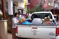 AMBALAJ ATIKLARI - Vatandaşlardan Geri Dönüşüme Destek