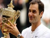 WIMBLEDON - Wimbledon'da Şampiyon Federer