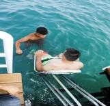ENGELLİ ASANSÖRÜ - Antalya'da Engelsiz Plaj